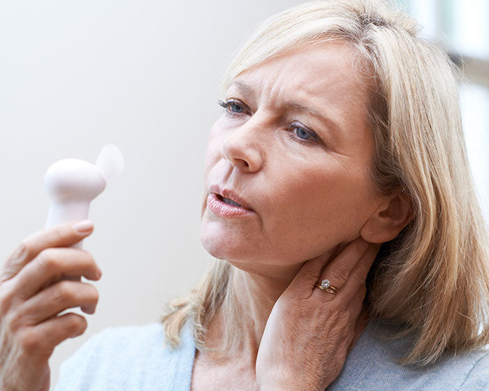 HOT FLUSHES DURING MENOPAUSE