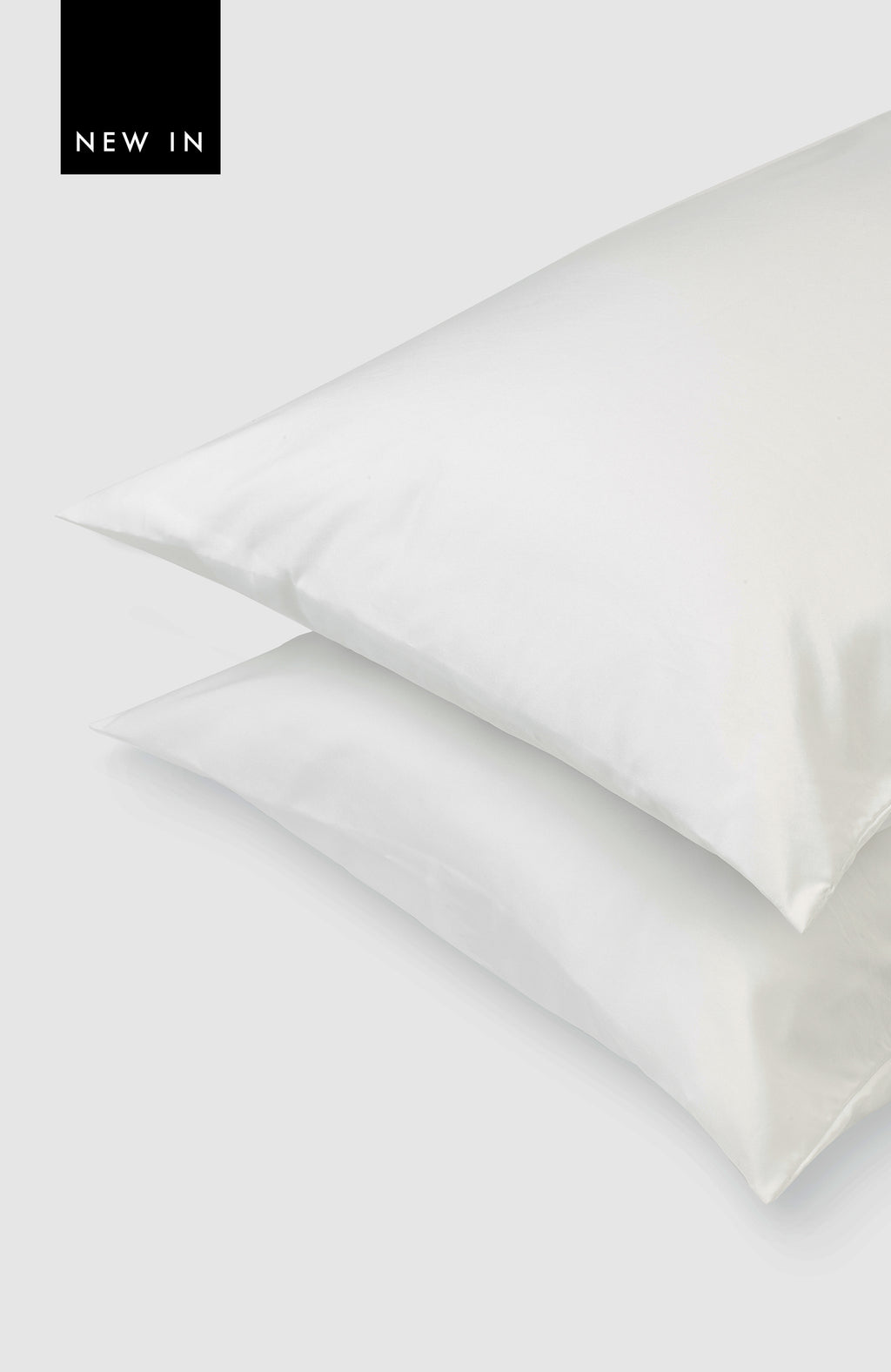 White DermaTherapy Pillow Case (pack of two)