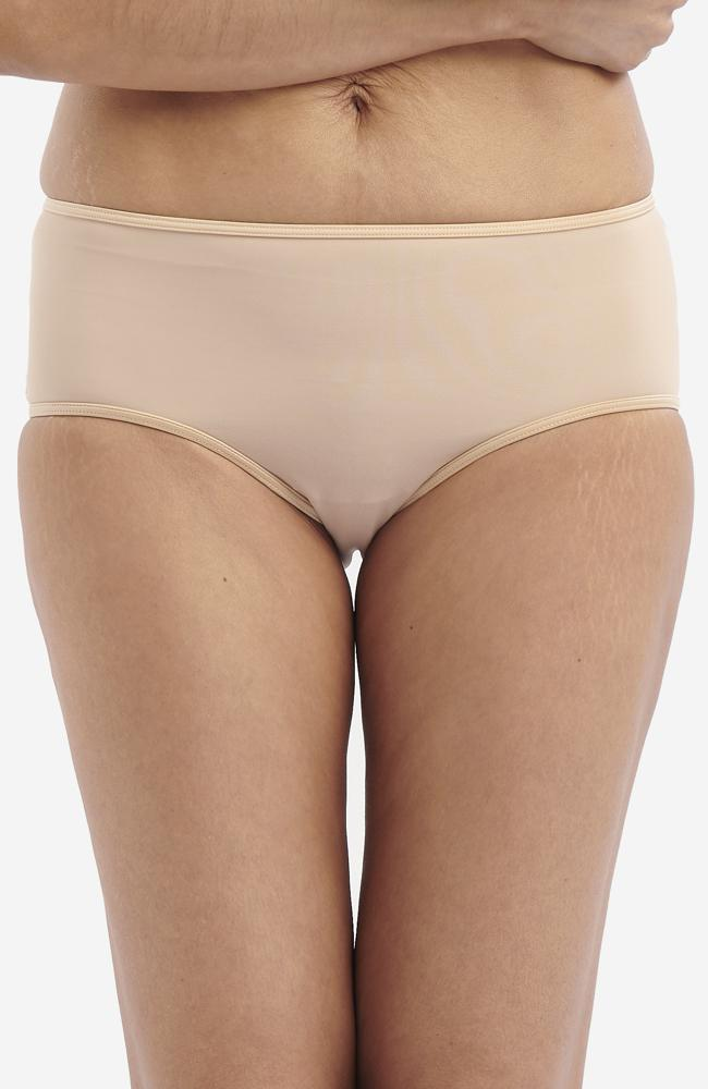 Biscuit Anti-Flush Midi Briefs