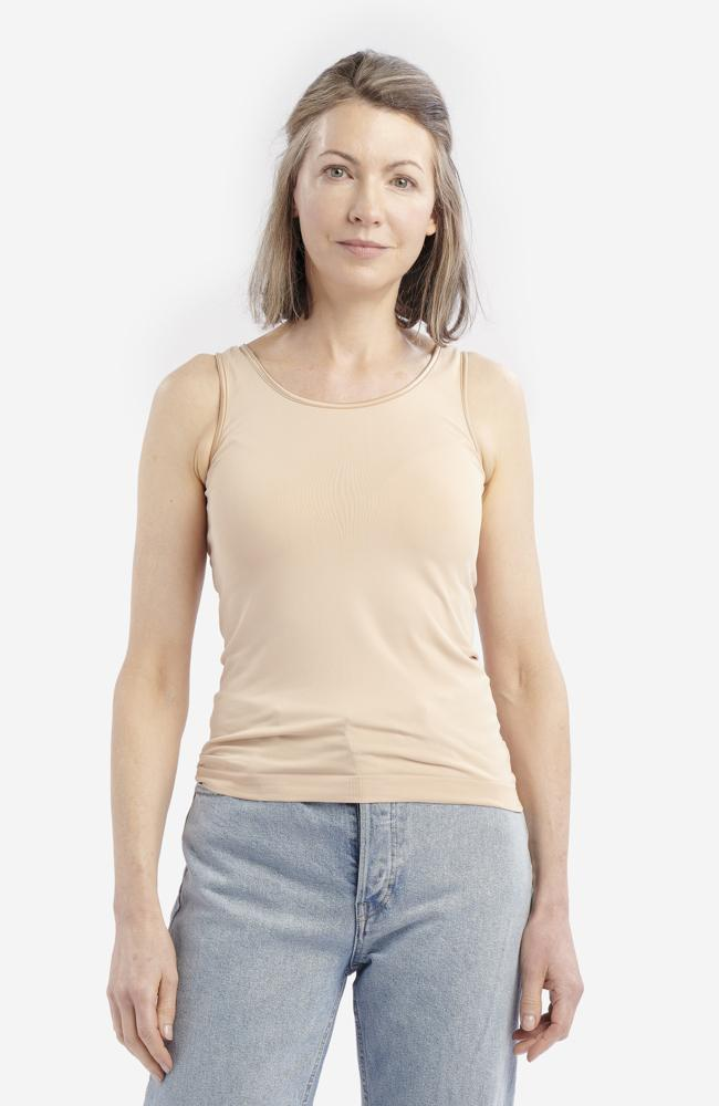 Biscuit Anti-Flush Vest Top