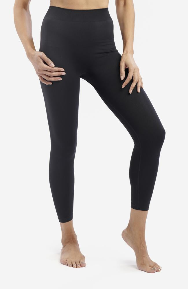 Black Anti-Flush Leggings