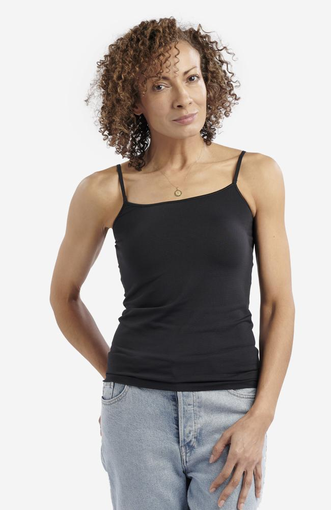 Black Anti-Flush Camisole