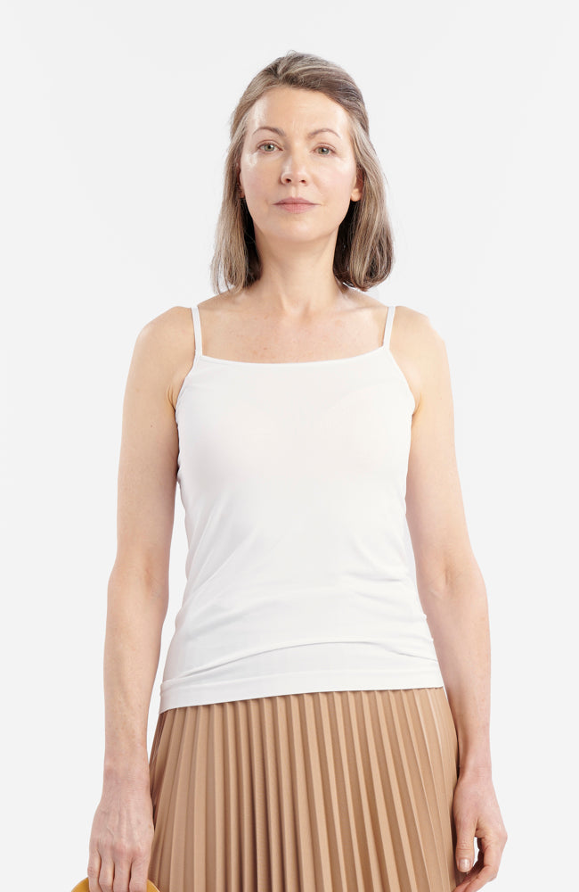 White Anti-Flush Camisole
