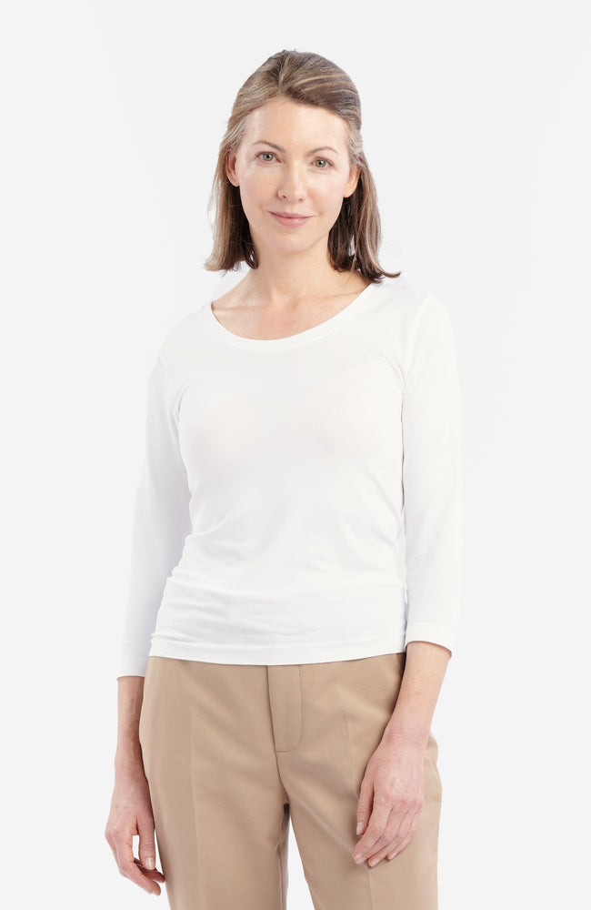 Anti-Flush Long-Sleeved T-Shirt