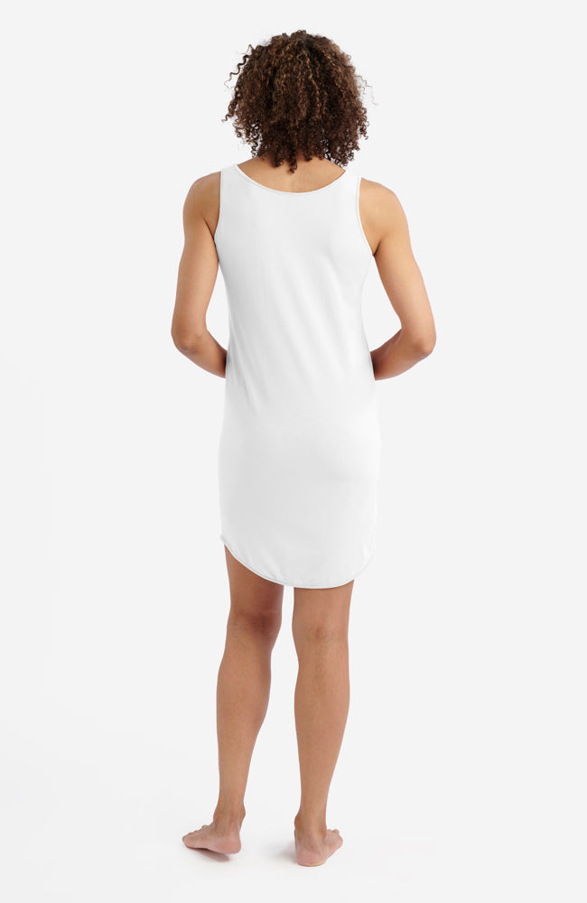 White Anti-Flush Night Dress