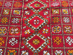 Berber Tribal Authentic Handmade Moroccan Zemmour Rug 165cm X 336cm