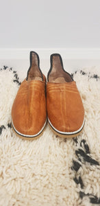 Traditional Moroccan slipper, handmade leather slippers #6