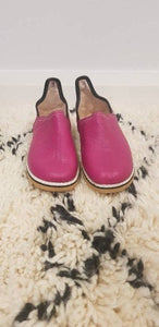 Moroccan Traditional Babouche, Handmade Leather Slippers #4