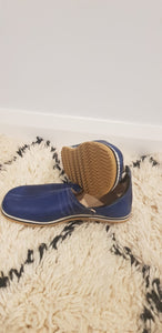 Moroccan Traditional Babouche, Handmade Leather Slippers #7 - AUALIRUG