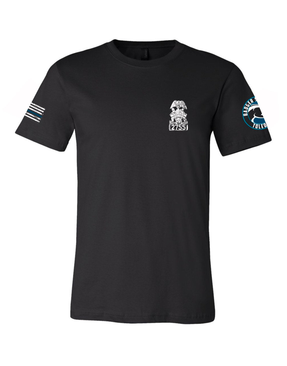 PRE-ORDER-OFFICIAL OFFICER DIA BJJ SHIRT