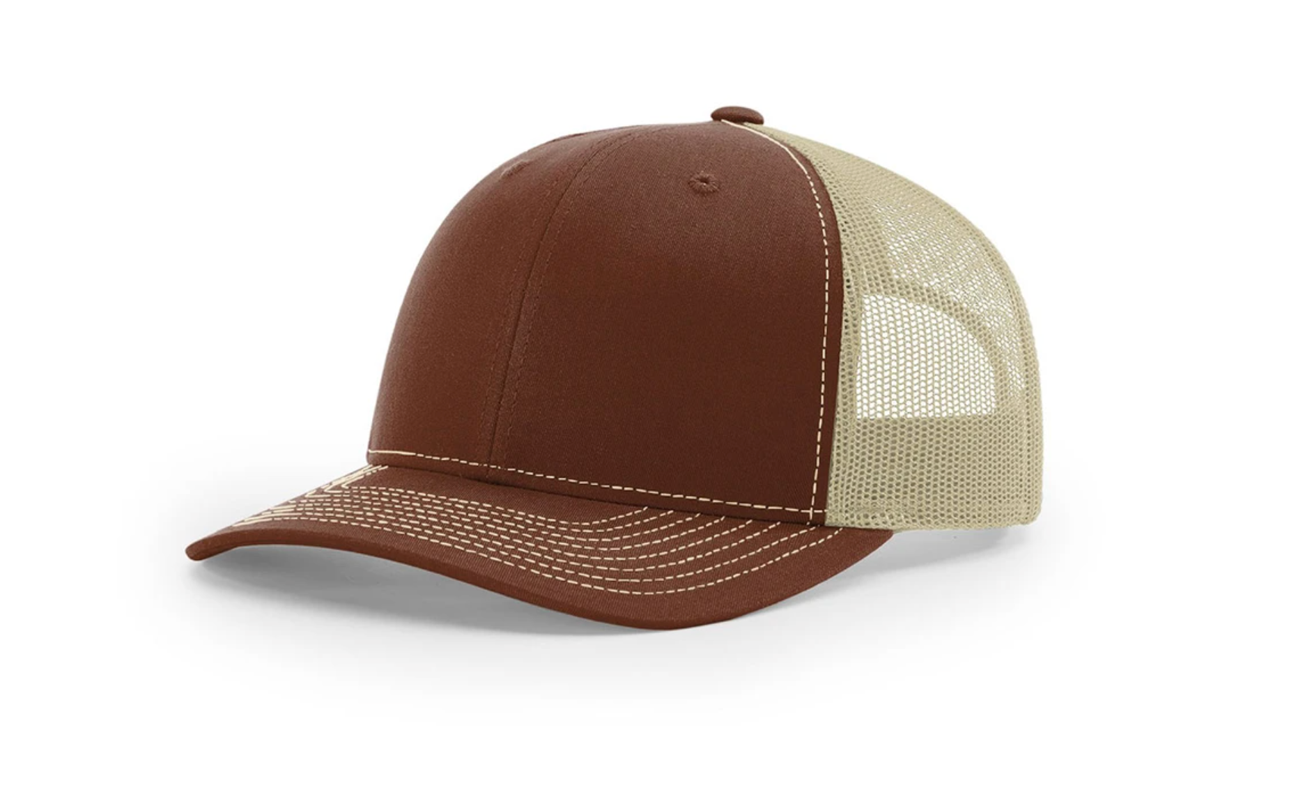 Richardson Mesh Back Split Trucker Hat