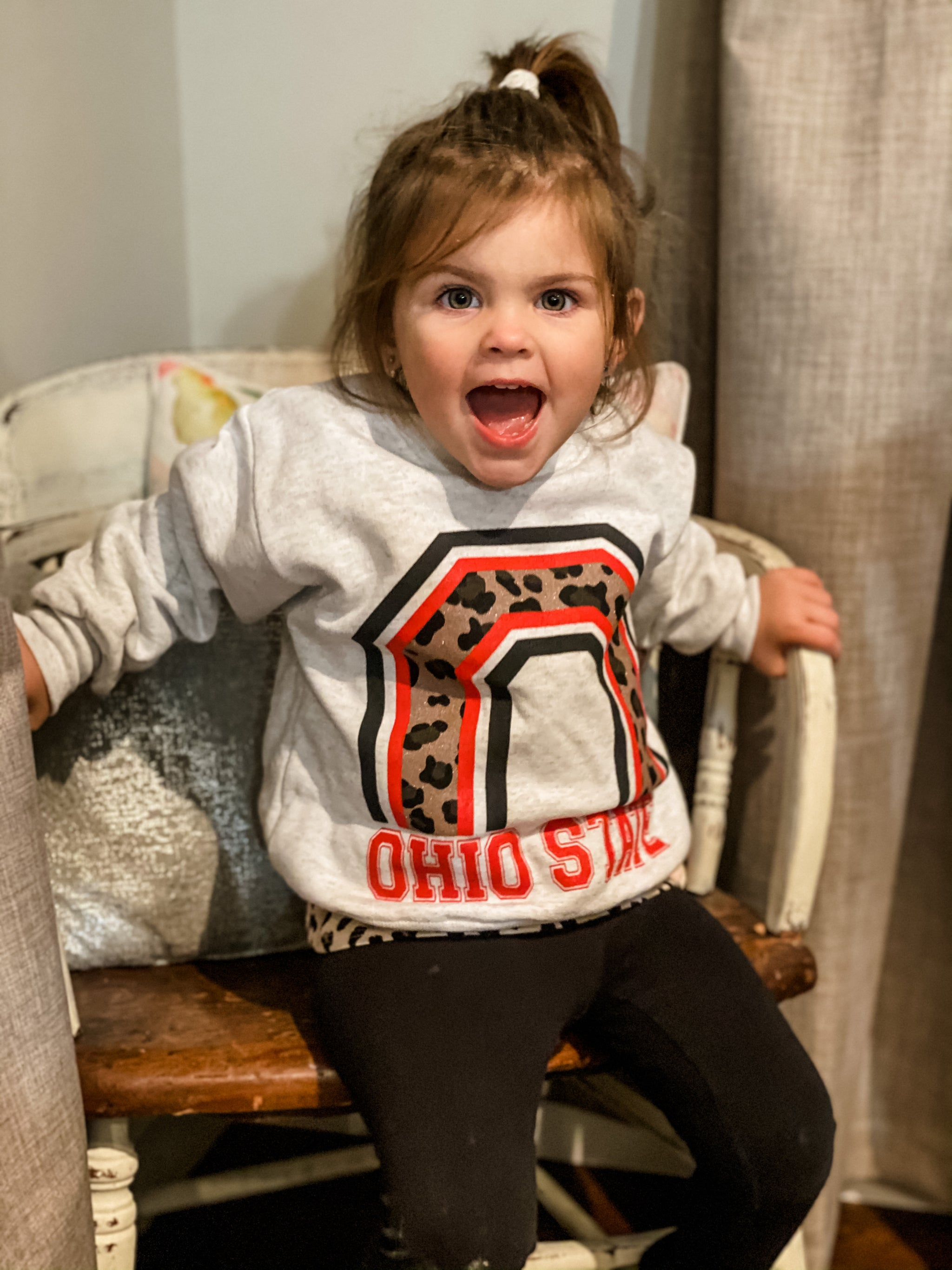 Mini Me Ohio State O Fleece