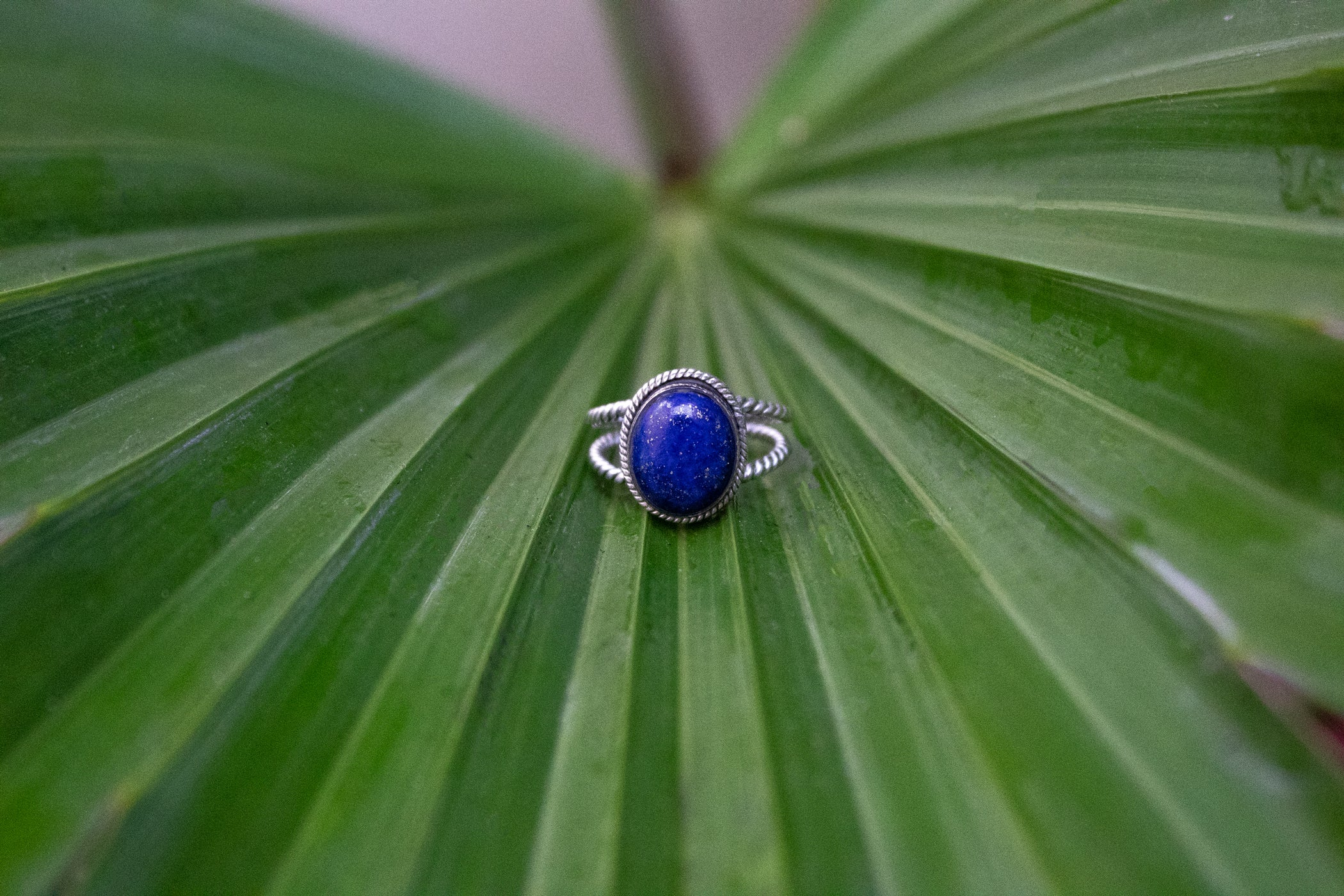Lapis Lazuli Ring, Ring of Self Expression AR-3012