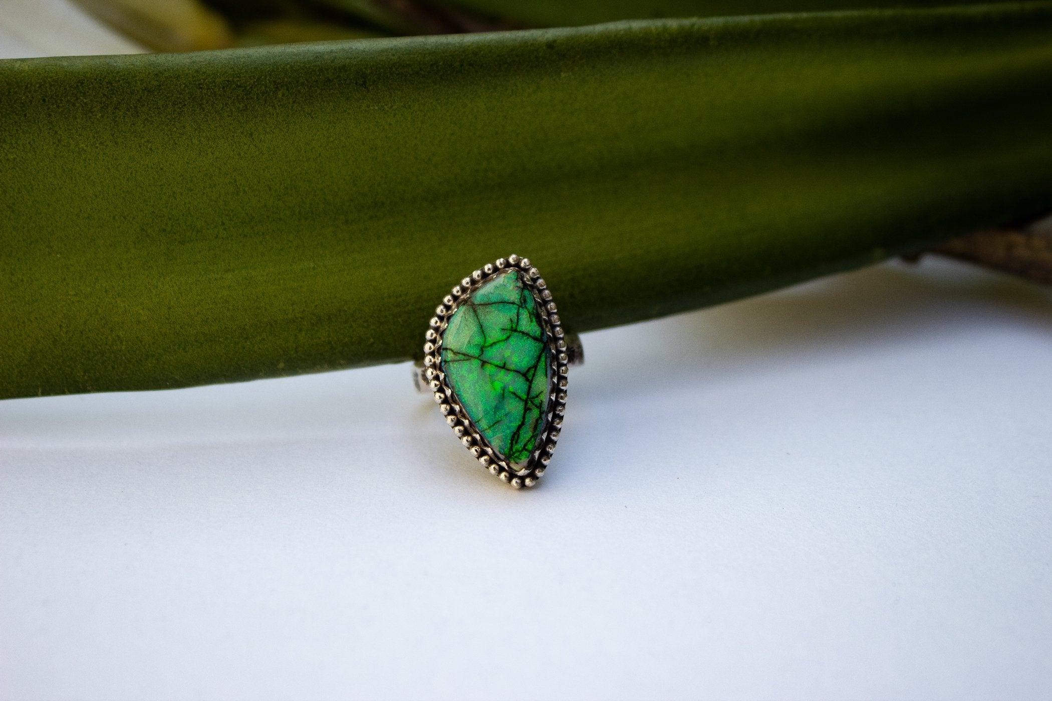 Monarch Opal Ring Size 7,  AR-2073