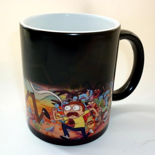 Rick And Morty Heat Sensitive Mug