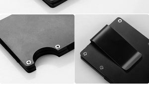 Thin Metal Mini Credit Card Holder