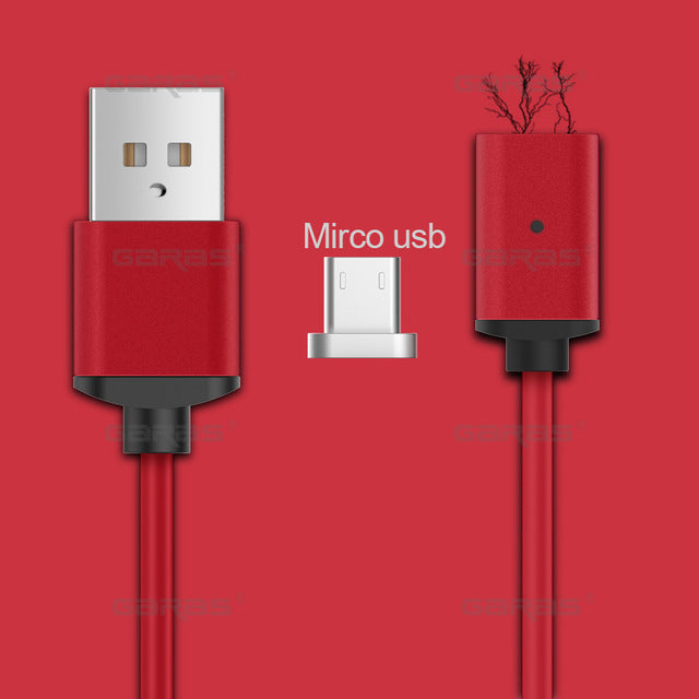 3IN1 Magnetic Cable USB Phone Cable
