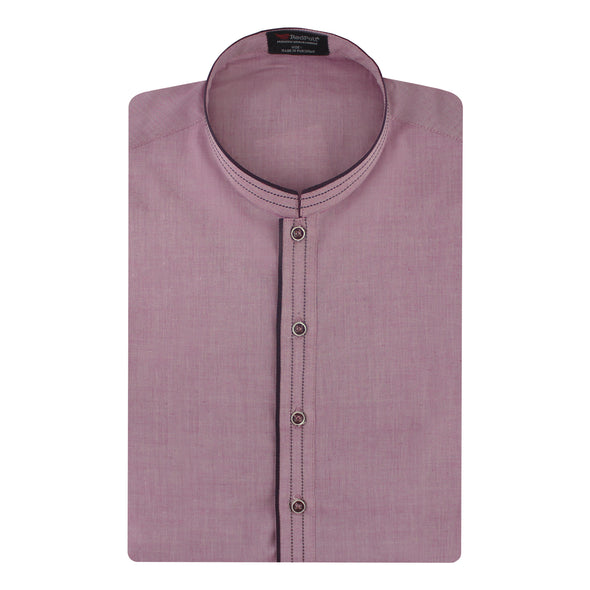 Fashion Chambray Sober Pink Kurta