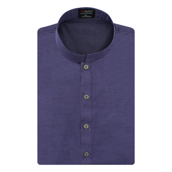 Premium Denim Purple Kurta