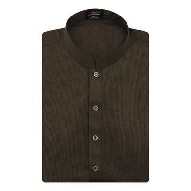 Prime Wash 'n Wear Brown Kurta