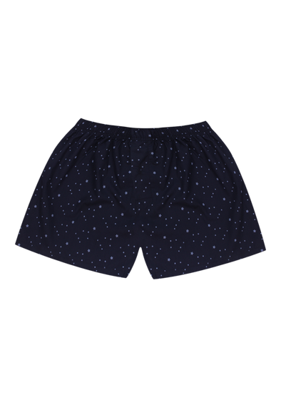 Comfortable Royal Stars Woven Boxer Shorts