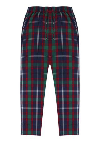 Pure Cotton Red & Green Checks Lounge Pants