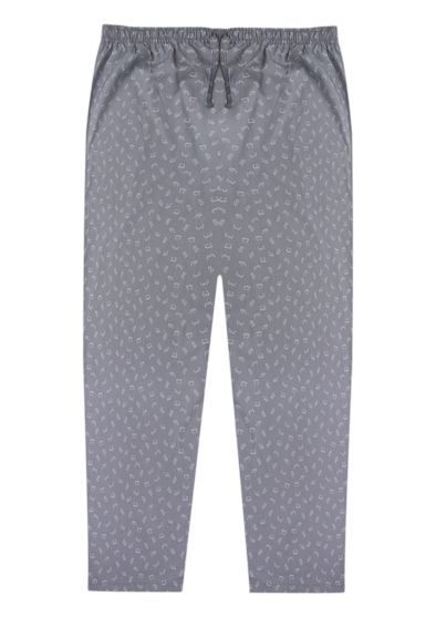 Pure Cotton Lazy Glasses Lounge Pants