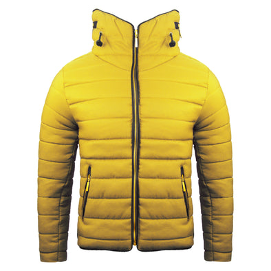 Women's Yellow Padded Body Warmer
