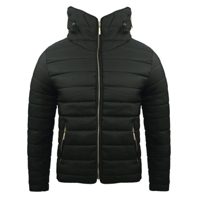 Women's Black Padded Body Warmer
