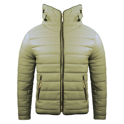 Women's Camel Padded Body Warmer