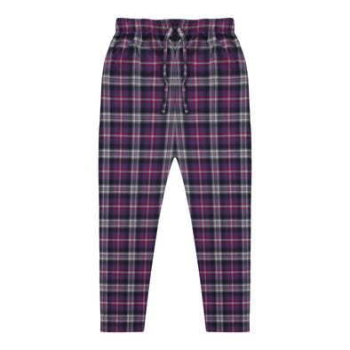 Women's Premio Cotton Pink & Purple Lounge Pants