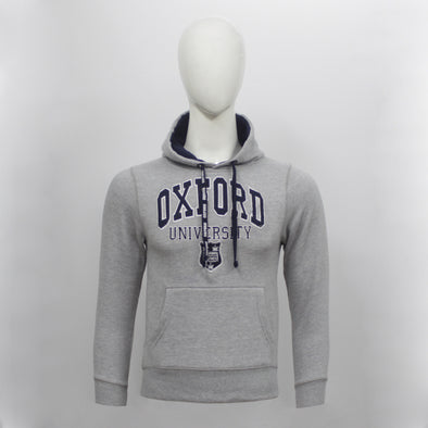 Heather Grey Oxford Pullover Hoodie