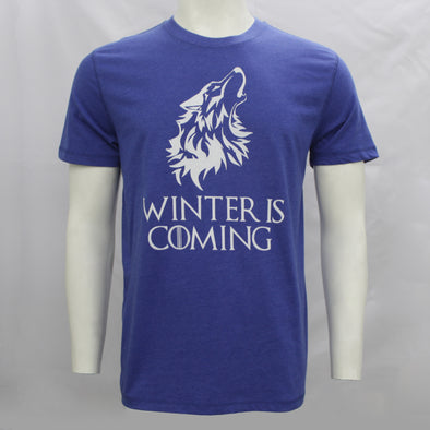 Winter is Coming Blue Short Sleeves Tee Shirt