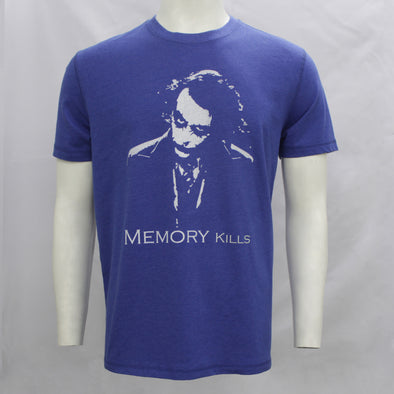 Memory Kills Blue Short Sleeves Tee Shirt