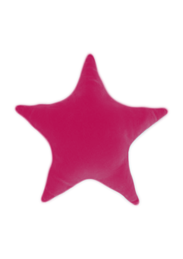 ULKAKTAS Fushia Star Filled Cushion