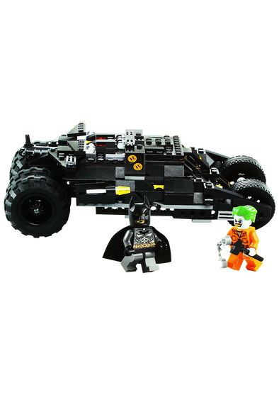 Batmobile Building Blocks