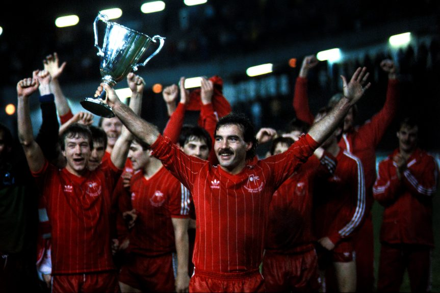 Aberdeen Cup Winners Cup Winners 1983, Neil Simpson, Willie Miller