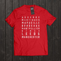Love The Game : Eric Cantona Tshirt. Shipping in 48 hrs worldwide.