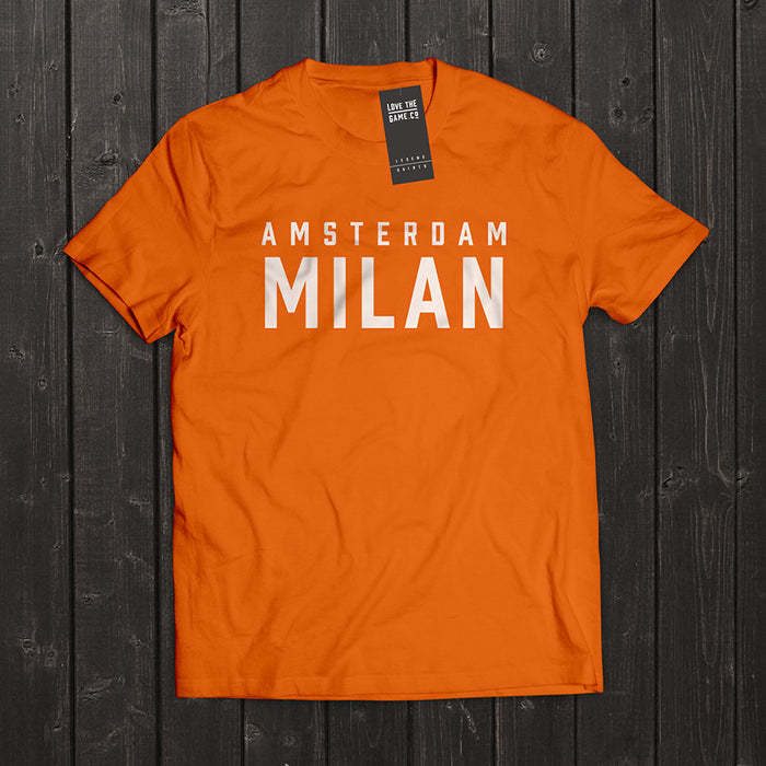 Love The Game : Marco Van Basten Tshirt. Shipping in 48 hrs worldwide.