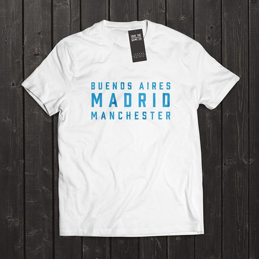 Love The Game : Sergio Aguero Tshirt. Shipping in 48 hrs worldwide.
