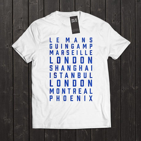 Love The Game : Didier Drogba Tshirt. Shipping in 48 hrs worldwide.