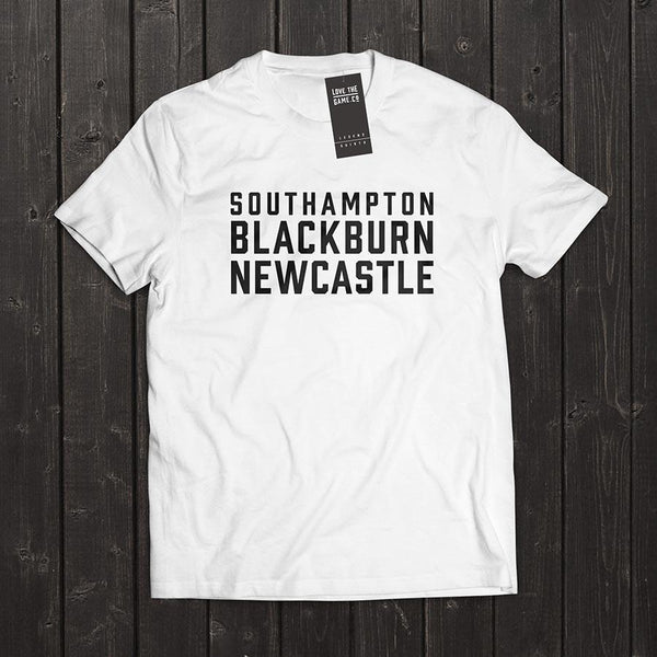 Love The Game : Alan Shearer Tshirt. Shipping in 48 hrs worldwide.