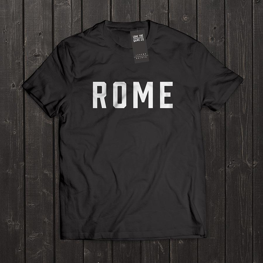 Love The Game : Francesco Totti Tshirt. Shipping in 48 hrs worldwide.