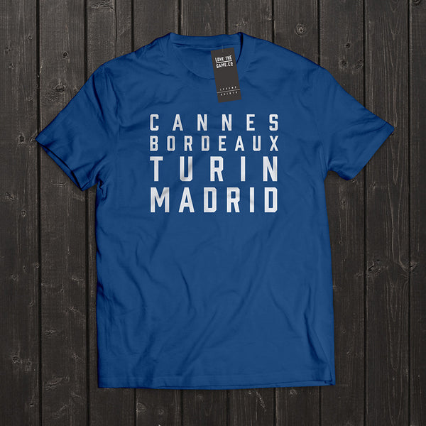 Love The Game : Zinedine Zidane Tshirt. Shipping in 48 hrs worldwide.