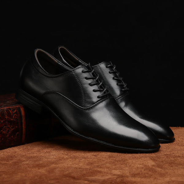 Color : Coffee, Size Formal Mens Casual Loafers Shoes Lace Up Casual Oxfords Microfiber Leather Upper Large Size Sport Shoes Shoes