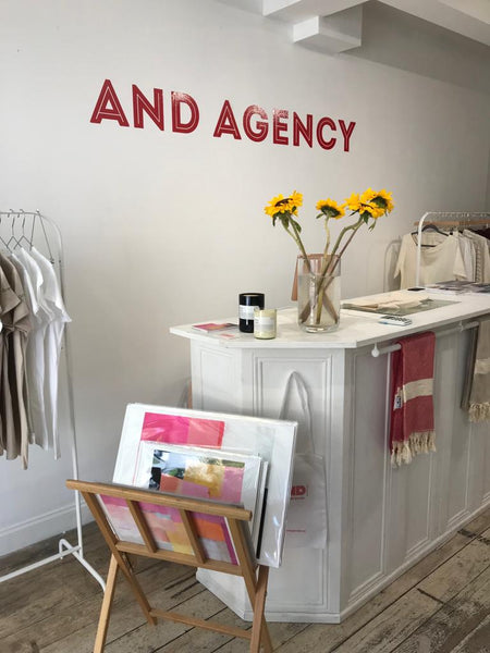 AND Agency pop up