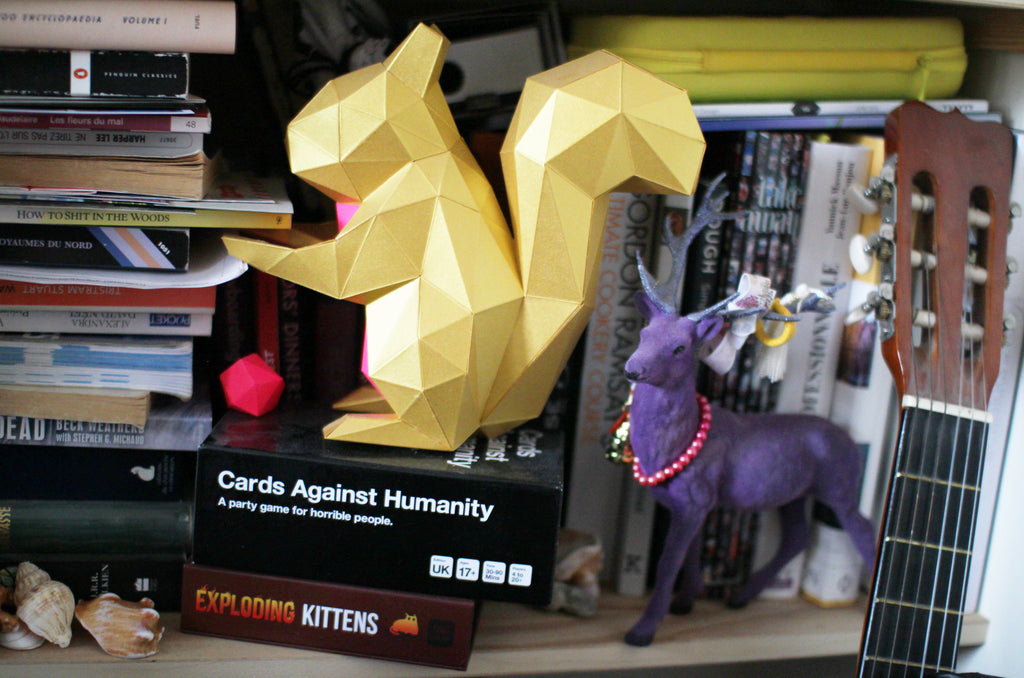 Judith's personal stuff: books, music, 3D prints and animals