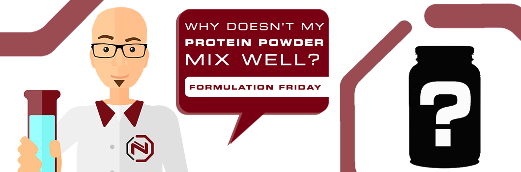 Why doesn't my protein powder mix well?