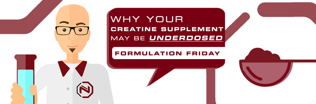 why your creatine supplement may be underdosed