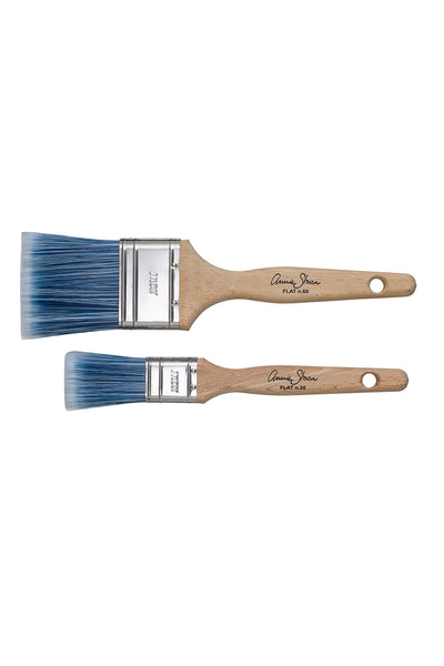 Chalk Paint Flat Brushes